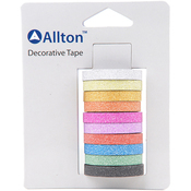 Brights & Basics 6mmX3m 10/Pkg - Decorative Glitter Tape