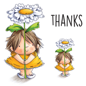 """Daisy Squidgy - Stamping Bella Squidgy Cling Stamp 6.5""""X4.5"""""""