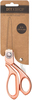 "Rose Gold - DIY Shop Craft Scissors 8"""
