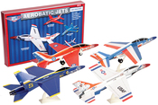 Aerobatic Jets W/Display Stands Kit
