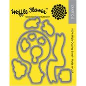 Across The Miles - Waffle Flower Die