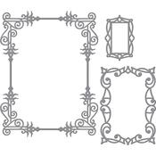 A2 Swirls Frame - Spellbinders Card Creator Die By Stacey Caron