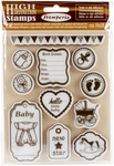 "Baby - Stamperia Cling Stamp 5.5""X7"""