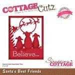 Santa's Best Friends - CottageCutz Elites Die