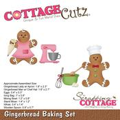 Gingerbread Baking Set - CottageCutz Die