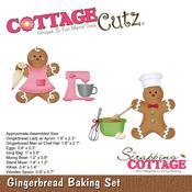 Gingerbread Baking Set - CottageCutz Die