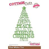 Good Wishes Tree - CottageCutz Elites Die