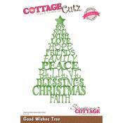 Good Wishes Tree - CottageCutz Elites Die