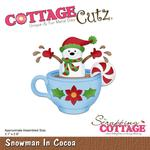 Snowman In Cocoa - CottageCutz Die