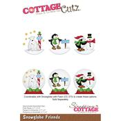 Snowglobe Friends - CottageCutz Die
