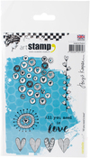 All You Need Is Love - Carabelle Studio Cling Stamp A6 By Birgit Koopsen