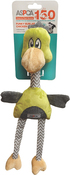 Green - ASPCA Funky Burlap Chicken Dog Toy