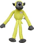 Green - ASPCA Burlap & Pixel Monkey Dog Toy