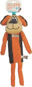 Orange - ASPCA Corduroy Pup Dog Toy