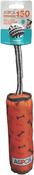 Orange - ASPCA Ruff & Tuff Tug N' Squeak Dog Toy