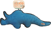 Triceratops-Blue - ASPCA Ultra Tuff Dinosaur Dog Toy