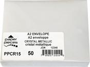 Crystal - A2 Metallic Envelopes 50/Pkg