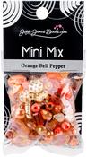 Orange Bell Pepper - Mini Mix Beads