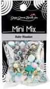 Baby Blanket - Mini Mix Beads