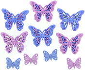 Sweet Butterflies - Dress It Up Embellishments