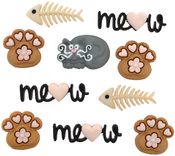 Meow - Dress It Up Embellishments
