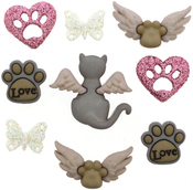 My Purrfect Angel - Dress It Up Embellishments