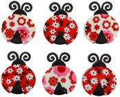 Ladybug Love - Dress It Up Embellishments