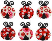 Ladybug Love - Dress It Up Embellishments
