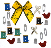 Sewing Box - Dress It Up Embellishments