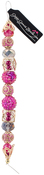 Pink Yarrow #1 - Design Elements Glass Bead Strands 7""