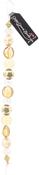 "Primrose Yellow #1 - Design Elements Glass Bead Strands 7"""