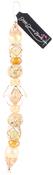 "Primrose Yellow #2 - Design Elements Glass Bead Strands 7"""