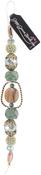 "Kale #1 - Design Elements Glass Bead Strands 7"""