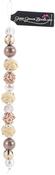 "Hazelnut #2 - Design Elements Glass Bead Strands 7"""