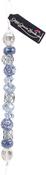 "Niagara #2 - Design Elements Glass Bead Strands 7"""