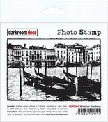 """Venetian Gondolas - Darkroom Door Cling Stamp 4.5""""X3"""""""