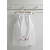 Size 3-8 - Bunny Pillowcase Dress Stamped For Embroidery Kit