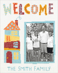 "8""X10"" 14 Count - Cathy Heck Welcome Home Counted Cross Stitch Kit"