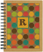 "6""X8"" - Dots Large Journal Punched For Cross Stitch"