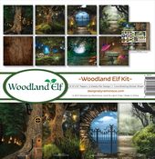 "Woodland Elf - Reminisce Collection Kit 12""X12"""