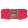 Coral - Red Heart Scrubby Cotton Yarn The same Scrubby texture you love now in 100% cotton. More absorbent than the original Scrubby, this version is great for dishes as well as the bath. It gets softer when it is wet so it is perfect for washcloths. Weight category: 4. Content: 100% Cotton. Putup: 3.5oz/100g. 145yd/133m. Gauge: 16sx21r=4in/10cm on size US8/5mm. Suggested crochet hook size: I-9/5.5mm. Dylotted: we try but are not always able to match dyelots. Care: machine wash and machine dry, do not iron, do not bleach. Comes in a variety of colors. Each sold separately. Imported.