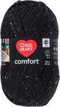 Black Fleck - Red Heart Comfort Yarn