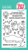 "Bring On The Joy - Avery Elle Clear Stamp Set 4""X6"""