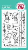 "Winter Woodland Wonders - Avery Elle Clear Stamp Set 4""X6"""