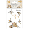 Craft Consortium A5 Tell The Bees Clear Stamps