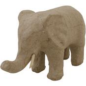 "4.75""X2.75"" - Paper-Mache Elephant"