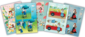 5 Designs/2 Each - Santoro Kori Kumi II A5 Decoupage Pack 10/Pkg
