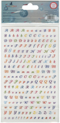 16 Complete Sets - A To Z - Santoro Kori Kumi II Acetate Alpha Stickers