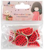 Watermelon - Santoro Kori Kumi II Hand-Painted Resin Charms 3cm 12/Pkg