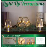 5 Holiday Terrariums - DCWV DIY Light Up Project Stack
